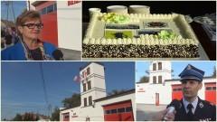 Dzierzgoń: Oficjalne przekazanie nowej siedziby strażakom. Zwiedzanie remizy i smaczny tort na otwarcie – 28.09.2017