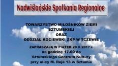 """Sztum: Zaproszenie na wykłady """"Wisła w historii i kulturze Powiśla""""– 20.10.2017"""