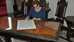 Burmistrz Dzierzgonia Elżbieta Domańska wzięła udział konferencji inaugurującej Rok Niepodległej - 02.11.2017