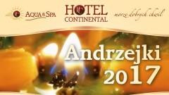 Weekend Andrzejkowy 2017 w Hotelu Continental w Krynicy Morskiej 24-25.11.2017