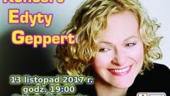 Już dziś koncert Edyty Geppert w Nowym Stawie – 13.11.2017