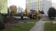 Ruszyła modernizacja ulicy i parkingów na osiedlu Sierakowskich w Sztumie - 13.11.2017