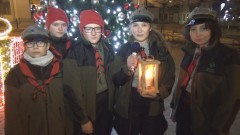 Harcerze przekażą światło pokoju z Betlejem mieszkańcom Sztumu – 19.12.2017