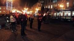 Malborscy harcerze przynieśli mieszkańcom Betlejemskie Światło Pokoju - 20.12.2017
