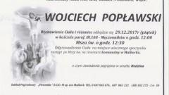 Zmarł Wojciech Popławski. Żył 84 lat.