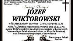 Zmarł Józef Wiktorowski