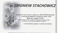 Zmarł Zbigniew Stachowicz. Żył 54 lat.