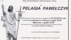 Zmarła Pelagia Pawełczyk. Żyła 90 lat.