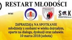 Zapraszamy na Restart Młodości w Sztumie - 10.03.2018