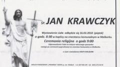Zmarł Jan Krawczyk. Żył 58 lat