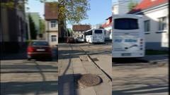 Nowy Dwór Gdański: Mistrzowie parkowania i kurs parkowania na chodnikach!