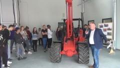 Nowe warsztaty i wielkie maszyny przyciągały na dniu otwartym ZSZ w Barlewiczkach