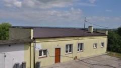 Gmina Dzierzgoń : Zakończenie kapitalnego remontu dachu w świetlicy wiejskiej w Jasnej Osiedle