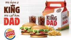 Świętuj Dzień Ojca po królewsku! Zestaw KING DAD Meal tylko 23 czerwca w Burger King!