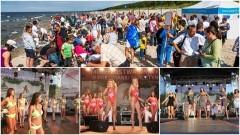Poławiacze bursztynu w akcji. Bursztynowa Miss Jantar 2018 wybrana