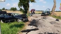 Dwa zderzenia aut osobowych, usuwanie połamanych drzew oraz zalana droga - weekendowy raport sztumskich służb mundurowych