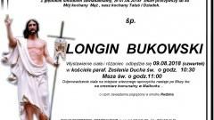 Zmarł Longin Bukowski. Żył 80 lat