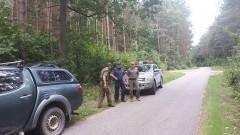 Sztum: Wspólne działania Policji z Państwową Strażą Łowiecką i Strażą Leśną