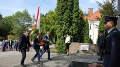 Uroczystości 79. rocznicy wybuchu II Wojny Światowej w Sztumie.