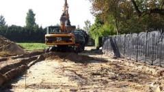 Sztum: Przebudowa drogi do dworku Żeromskiego w Zajezierzu