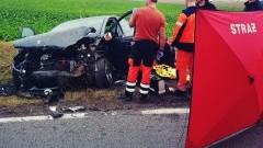 Śmiertelny wypadek na DK22. Zginęła kobieta