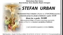 Zmarł Stefan Urban. Żył 74 lata