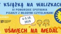 """""""Z książką na walizkach"""" spotkanie z pisarką Joanną Olech w Dzierzgoniu"""