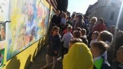 Odsłonięcie muralu ku pamięci Stanisława Filipowicza z Dzierzgonia