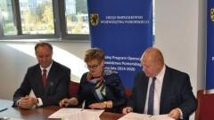 """""""Przywrócenie i ochrona różnorodności biologicznej nad rzeką Dzierzgoń w Gminie Dzierzgoń"""" - podpisanie umowy na dofinansowanie."""