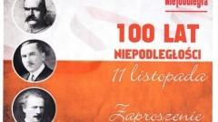 Sztum: Obchody 100.rocznicy odzyskania przez Polskę niepodległości. Zobacz program.