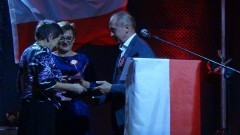 """Pani Maria Budzińska otrzymała tytułu """"Zasłużony dla Gminy Dzierzgoń"""". XLIV Nadzwyczajna Sesja Rady Miejskiej"""