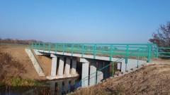 Zakończenie przebudowy mostu drogowego nad Kanałem Uśnickim.