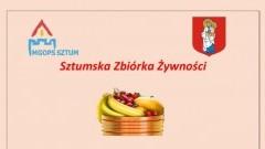 """""""Sztumska Zbiórka Żywności"""" - pomoc dla najuboższych mieszkańców."""