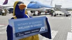 Trzy loty dziennie z Gdańska do Amsterdamu