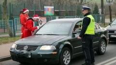 Niecodzienne patrole policji i uczniów w Dzierzgoniu