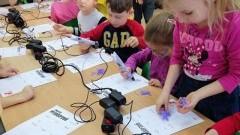 """Warsztaty """"Tworzę przestrzeń"""" w sztumskich przedszkolach."""
