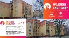 Nowy Dwór Gdański. Pierwsi klienci już korzystają ze światłowodów w mieszkaniach na os. Wyszyńskiego