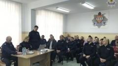 Roczna odprawa policjantów z Komendy Powiatowej w Sztumie