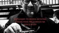"""""""Rozbity bank ludzkich serc"""" – ostatnia puszka prezydenta Pawła Adamowicza."""