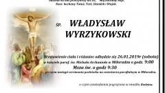 Zmarł Władysław Wyrzykowski. Żył 85 lat.