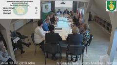 V sesja Rady Gminy Mikołajki Pomorskie