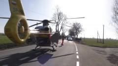 Troje 19- latków w szpitalu po dachowaniu w Dębinie.