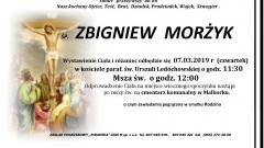 Zmarł Zbigniew Morżyk. Żył 86 lat.