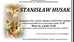 Zmarł Stanisław Husak. Żył 97 lat.