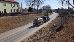 Rozbudowa drogi wojewódzkiej nr 515. Zobacz postęp prac - 19.03.2019