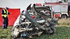 Zderzenie toyoty z drzewem. 27-letni kierowca poniósł śmierć na miejscu.
