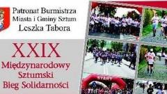 Utrudnienia w ruchu w czasie XXIX Międzynarodowego Biegu Solidarności w Sztumie