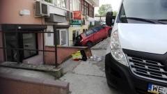 Auto bez kierowcy poruszało się po Jasnej w Malborku.