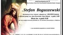 Zmarł Stefan Boguszewski. Żył 73 lata