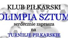"""Sztum:""""Wakacje z piłką""""- Olimpia Sztum zaprasza na turnieje."""